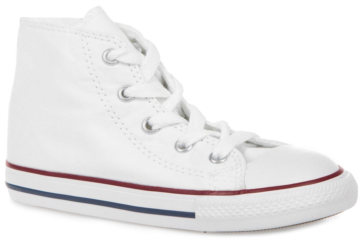 Кеды3J231SS16Детские кеды Chuck Taylor All Star от легендарной компании Converse являются частью серии, разработанной самим Чаком Тейлором. Данная модель, выполненная из текстиля, отлично подойдет не только для занятий спортом, но и для повседневных образов. Классическая подошва надежно зафиксирует изделие на ноге. На боковой стороне и заднике расположены логотипы бренда. Оригинальная резиновая подошва модели поддерживает стопу в естественном положении, обеспечивая ей полное отсутствие перенапряжений и усталости. Стильные кеды сделают вашего ребенка ярче и займут достойное место в его коллекции.