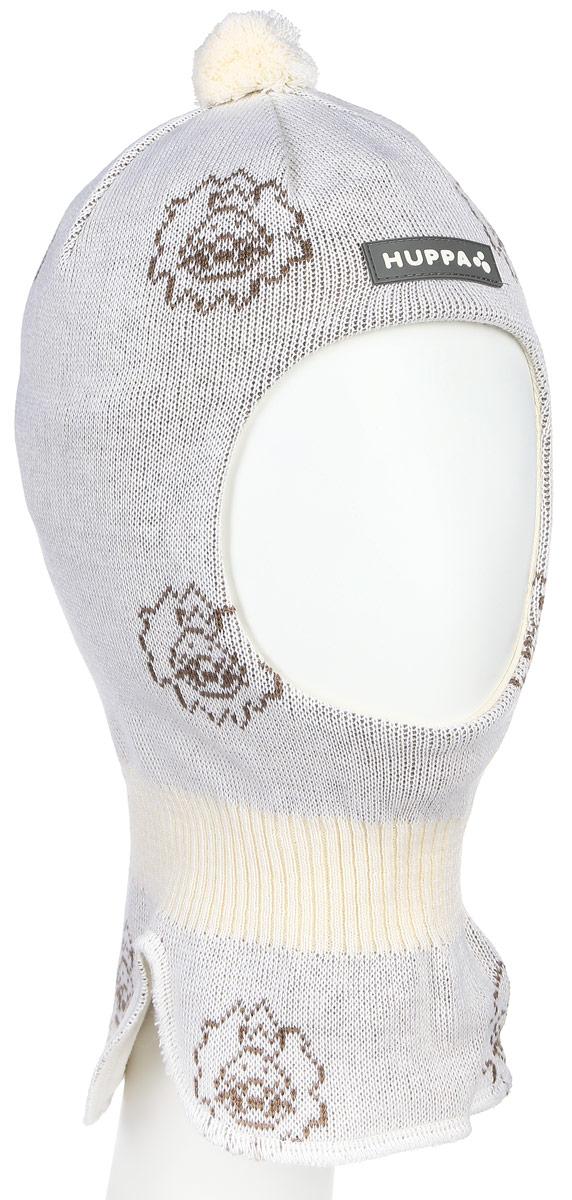 Шапка детская85120000-60113Вязаная шапка-шлем Huppa Kelda выполнена из высококачественной пряжи из мериносовой шерсти и акрила. Подкладка выполнена из натурального хлопка и имеет комфортные плоские швы. Шейная часть шапки связана резинкой. В области ушей расположены утепленные вставки. Модель декорирована небольшим помпоном на макушке и дополнена светоотражающим лейблом с логотипом бренда. Уважаемые клиенты! Обращаем ваше внимание на тот факт, что размер, доступный для заказа, является обхватом головы.