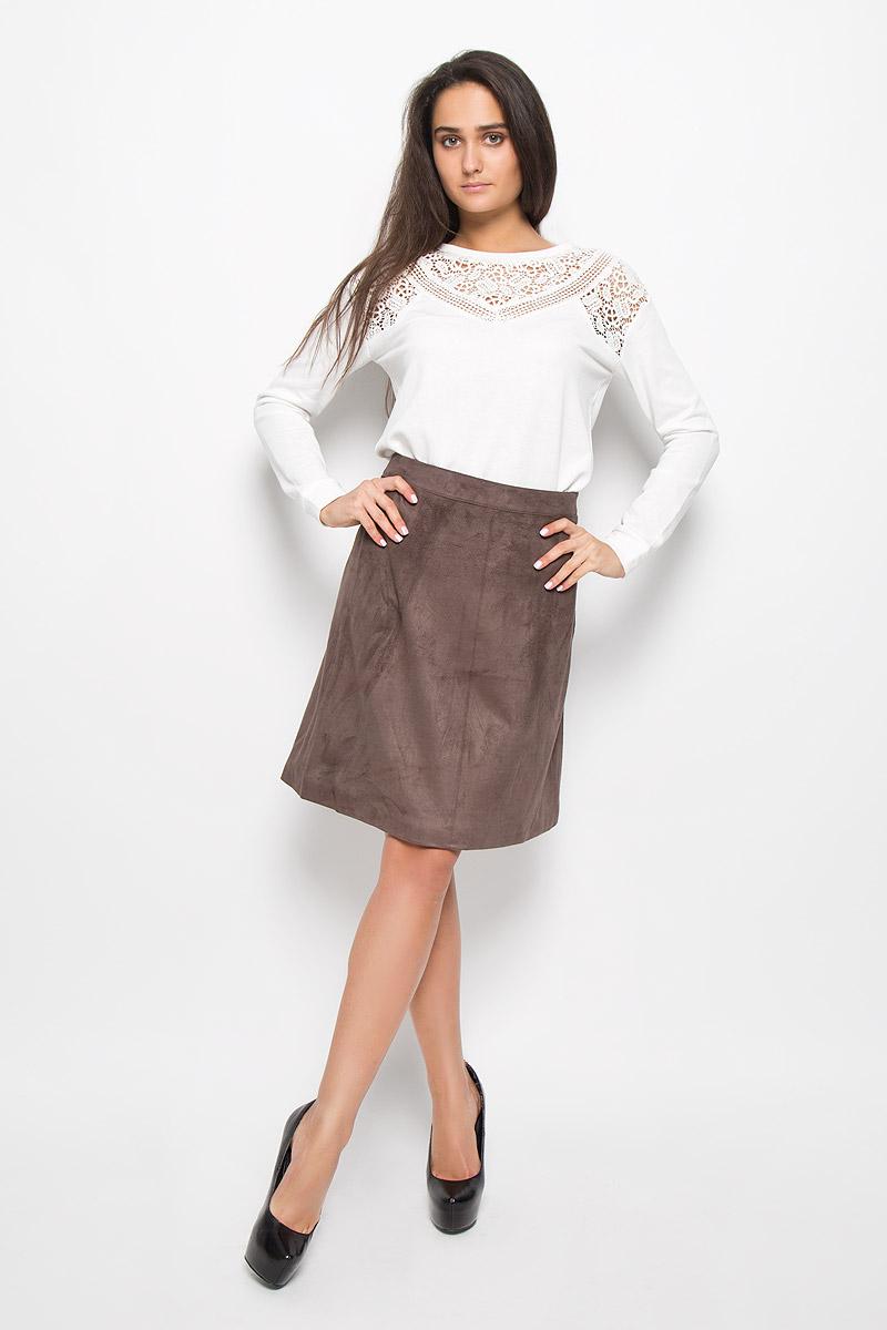 ЮбкаSK-118/838-6393Юбка Sela Casual, выполненная из искусственной кожи, подчеркнет вашу женственность и неповторимый стиль. Материал изделия плотный и эластичный, тактильно приятный, хорошо пропускает воздух. Модель дополнена подкладкой. Юбка застегивается на потайную застежку-молнию в боковом шве. Модная юбка-миди выгодно освежит и разнообразит ваш гардероб!