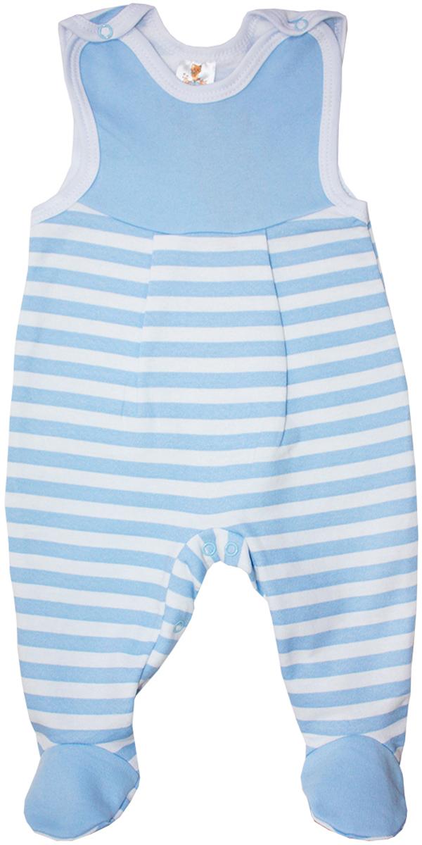 Ползунки5372Ползунки с грудкой детские КотМарКот Бибер - очень удобный и практичный вид одежды для вашего малыша. Ползунки выполнены из натурального хлопка, благодаря чему они необычайно мягкие и приятные на ощупь. Ползунки с закрытыми ножками имеют застежки-кнопки на плечах и на ластовице, которые помогают легко переодеть ребенка или сменить подгузник. Изделие оформлено принтом в полоску.