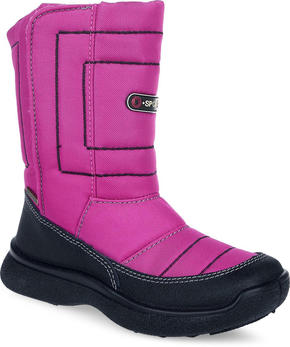 11-155Замечательные сапоги для девочки Аллигаша, изготовленные из современных материалов, обеспечат удобство и комфорт ножкам вашей малышки в прохладную погоду. Верх выполнен из комбинаций натуральной кожи и текстиля. Технология TEGINA-TEX - это обувь с применением специальной подкладочной мембраны, которая позволяет ноге дышать и абсолютно непроницаемо снаружи для воды и холода. На морозе удерживается тепло, а в помещении нога не потеет. Модель на рифленой подошве с округлым мыском обеспечивает удобство и практичность на каждый день. Удобная пяточная часть укреплена. Внутренняя отделка из текстиля и шерсти. Застежка-липучка за счет регулировки объема обеспечивает комфортную посадку на ноге. Стелька из натуральной шерсти не даст ножке замерзнуть. Оформлена модель прострочкой, а также прорезиненной вставкой и металлической пластиной. В таких сапожках ножкам вашего ребенка всегда будет комфортно, уютно и тепло!