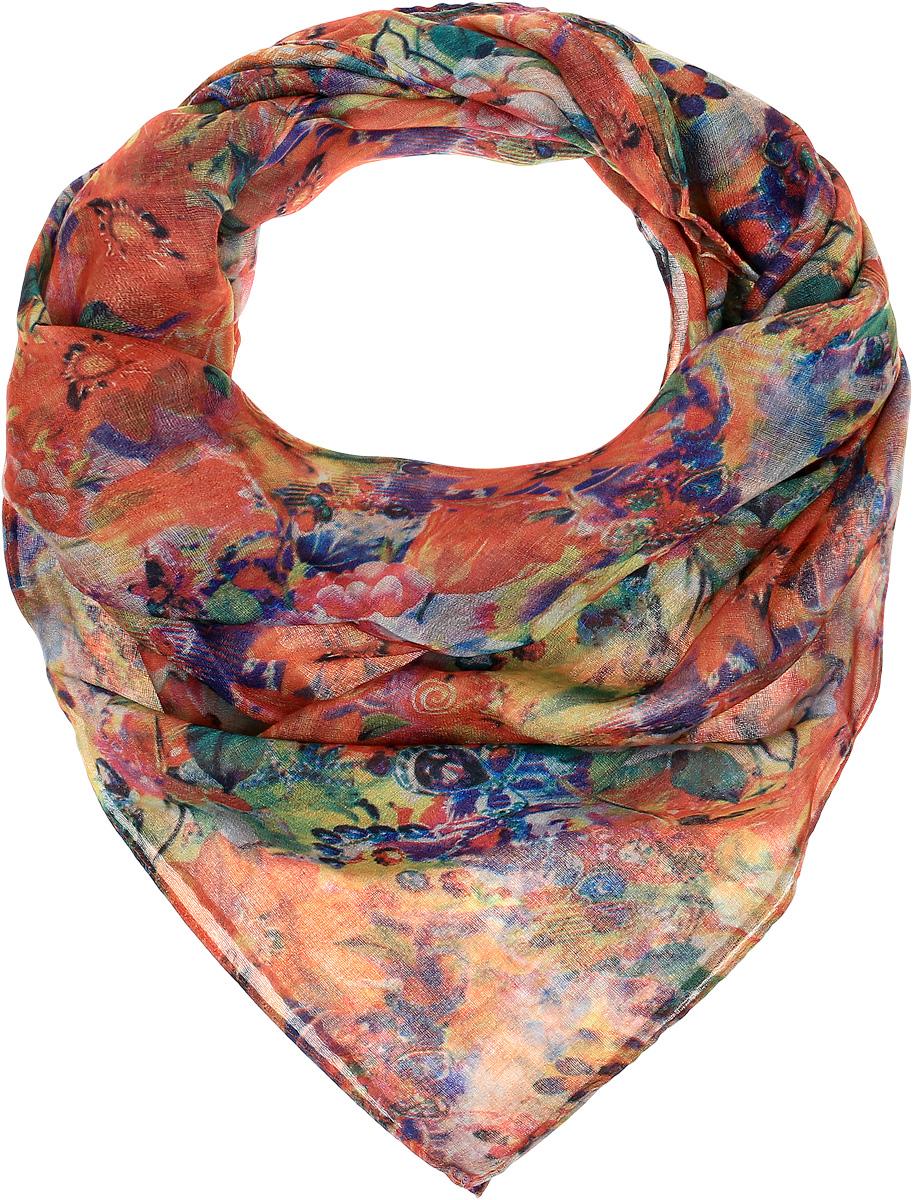 YY-21681-2Элегантный платок Sophie Ramage станет достойным завершением вашего образа. Платок изготовлен из высококачественной вискозы. Оформлена модель стильным цветочным принтом. Платок красиво драпируется, он превосходно дополнит любой наряд и подчеркнет ваш изысканный вкус. Легкий и изящный палантин привнесет в ваш образ утонченность и шарм.