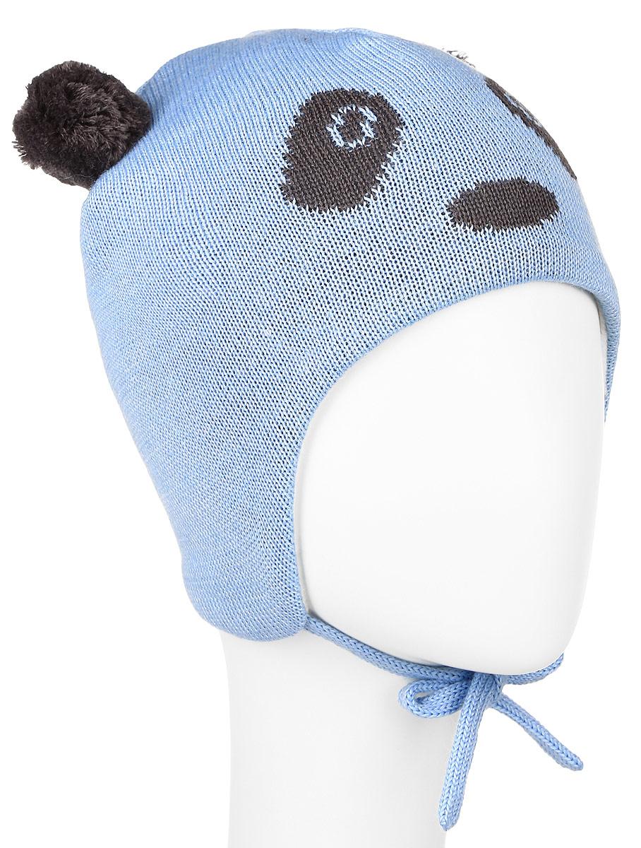 Шапка детская718698-0110Комфортная детская шапка Reima Lassie идеально подойдет для прогулок в холодное время года. Вязаная шапка с ветрозащитными вставками в области ушей, выполненная из шерсти и акрила, максимально сохраняет тепло, она мягкая и идеально прилегает к голове. Мягкая подкладка выполнена из флиса, поэтому шапка хорошо сохраняет тепло и обладает отличной гигроскопичностью (не впитывает влагу, но проводит ее). Шапка завязывается на завязки под подбородком и оформлена двумя помпонами, небольшой мордочкой медвежонка и светоотражающей нашивкой с названием бренда. В ней ваш ребенок будет чувствовать себя уютно и комфортно. Уважаемые клиенты! Размер, доступный для заказа, является обхватом головы.