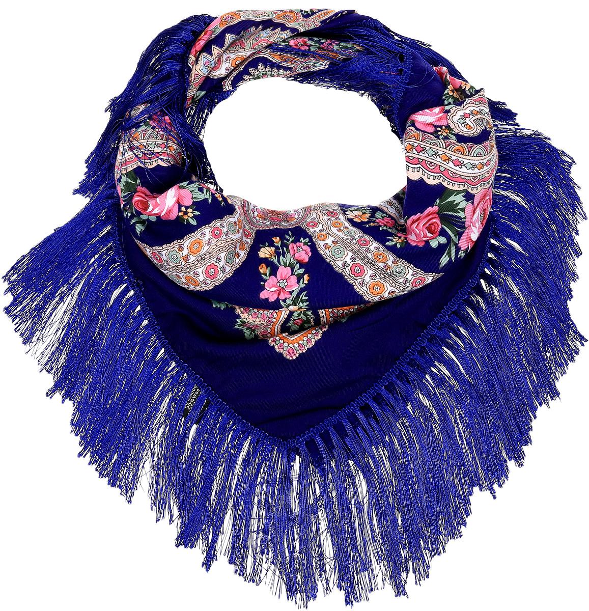 YY-21660-1Элегантный платок Sophie Ramage станет достойным завершением вашего образа. Платок изготовлен из модала с добавлением шерсти и полиэстера. Оформлена модель яркими цветочными узорами в стиле хохломы и дополнена стильной бахромой. Платок красиво драпируется, он превосходно дополнит любой наряд и подчеркнет ваш изысканный вкус. Легкий и изящный платок привнесет в ваш образ утонченность и шарм.