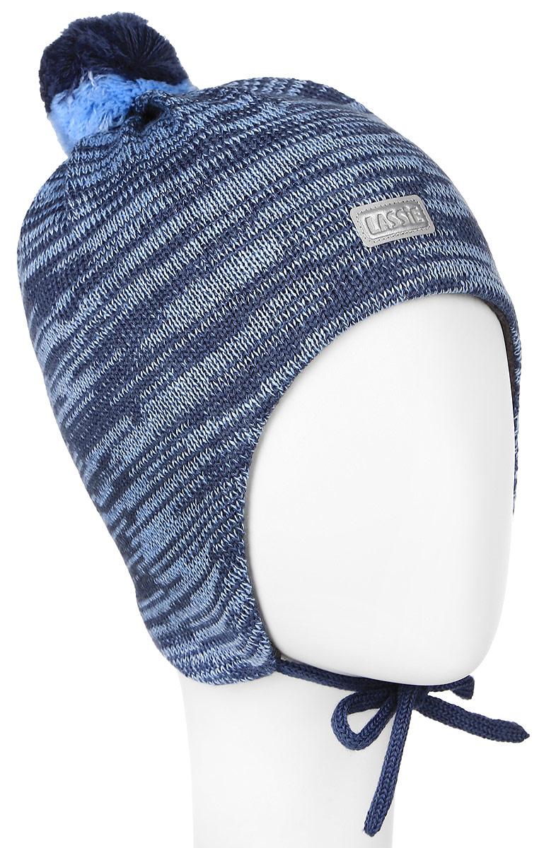 718693-0110Комфортная детская шапка Reima Lassie идеально подойдет для прогулок в холодное время года. Вязаная шапка с ветрозащитными вставками в области ушей, выполненная из шерсти и акрила, максимально сохраняет тепло, она мягкая и идеально прилегает к голове. Мягкая подкладка выполнена из флиса, поэтому шапка хорошо сохраняет тепло и обладает отличной гигроскопичностью (не впитывает влагу, но проводит ее). Шапка завязывается на завязки под подбородком и оформлена помпоном и небольшой светоотражающей нашивкой с названием бренда. В ней ваш ребенок будет чувствовать себя уютно и комфортно. Уважаемые клиенты! Размер, доступный для заказа, является обхватом головы.