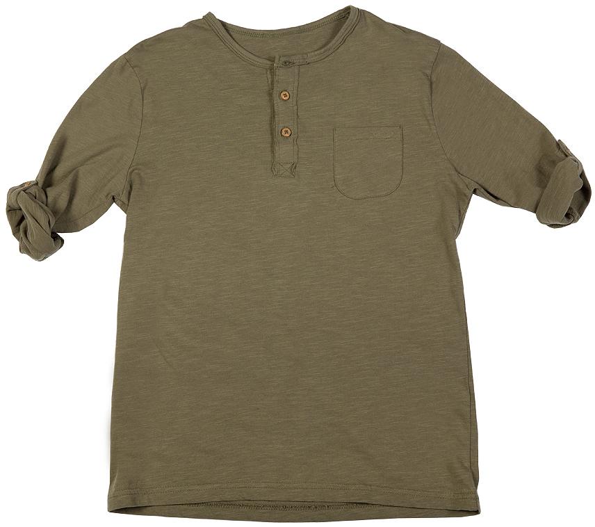 216BBBC12030900Футболки с короткой планкой - основная составляющая модного детского функционального гардероба. Их секрет в возможности выглядеть совершенно по-разному в зависимости от настроения и цели. С трикотажными брюками футболка будет выглядеть спортивно и динамично, а в компании с джинсами и кардиганом та же футболка составит отличный комплект в стиле casual. Если вы хотите купить качественную футболку недорого и вместе с ней приобрести комфорт, футболка от Button Blue - то что нужно! Она сделает повседневный гардероб свежим, ярким, привлекательным!