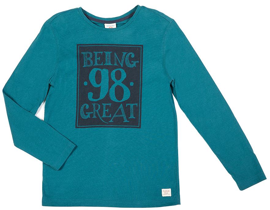 Лонгслив216BBBC12040700Лонгслив - основная составляющая модного детского функционального гардероба. Модель с эффектным принтом - украшение гардероба! Лонгслив сделает повседневный гардероб свежим, ярким, привлекательным!