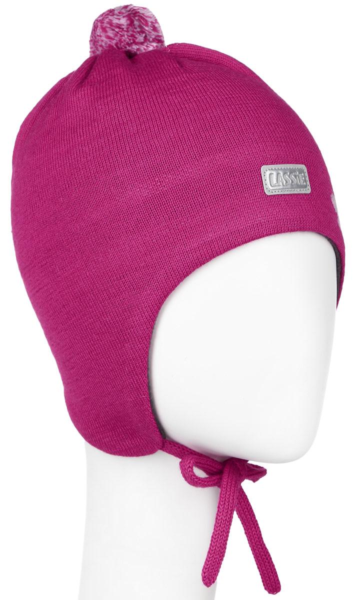 718699-3520Комфортная шапка для девочки Reima Lassie идеально подойдет для прогулок в холодное время года. Вязаная шапка с ветрозащитными вставками в области ушей, выполненная из шерсти и акрила, максимально сохраняет тепло, она мягкая и идеально прилегает к голове. Мягкая подкладка выполнена из флиса, поэтому шапка хорошо сохраняет тепло и обладает отличной гигроскопичностью (не впитывает влагу, но проводит ее). Шапка завязывается на завязки под подбородком и оформлена цветочным принтом, ярким помпоном и светоотражающей нашивкой с названием бренда. В ней ваша дочурка будет чувствовать себя уютно и комфортно. Уважаемые клиенты! Размер, доступный для заказа, является обхватом головы.