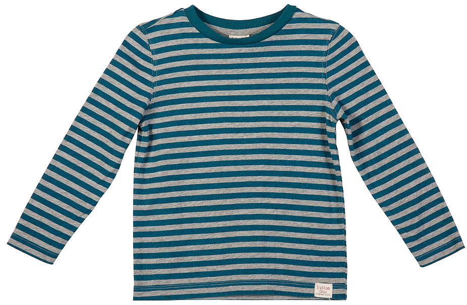 216BBBC12050705Лонгслив в полоску - основная составляющая модного детского функционального гардероба. Модель с длинным рукавом выполнена из высококачественного материала.