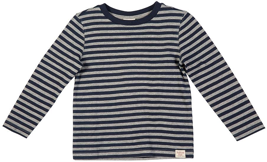 216BBBC12051005Футболки в полоску - основная составляющая модного детского функционального гардероба. Их секрет в возможности выглядеть совершенно по-разному в зависимости от настроения и цели. С трикотажными брюками футболка с принтом будет выглядеть спортивно и динамично, а в компании с джинсами и кардиганом та же футболка составит отличный комплект в стиле casual. Синяя полосатая футболка - украшение гардероба! Если вы хотите купить качественную футболку дешево и вместе с ней приобрести комфорт и свободу движений, футболка от Button Blue - то что нужно! Она сделает повседневный гардероб свежим, ярким, привлекательным!