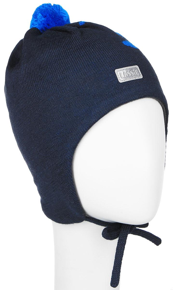 Шапка детская718699-6990Комфортная шапка для мальчика Reima Lassie идеально подойдет для прогулок в холодное время года. Вязаная шапка с ветрозащитными вставками в области ушей, выполненная из шерсти и акрила, максимально сохраняет тепло, она мягкая и идеально прилегает к голове. Мягкая подкладка выполнена из флиса, поэтому шапка хорошо сохраняет тепло и обладает отличной гигроскопичностью (не впитывает влагу, но проводит ее). Шапка завязывается на завязки под подбородком и оформлена рисунком самолетика, ярким помпоном и светоотражающей нашивкой с названием бренда. В ней ваш мальчик будет чувствовать себя уютно и комфортно. Уважаемые клиенты! Размер, доступный для заказа, является обхватом головы.