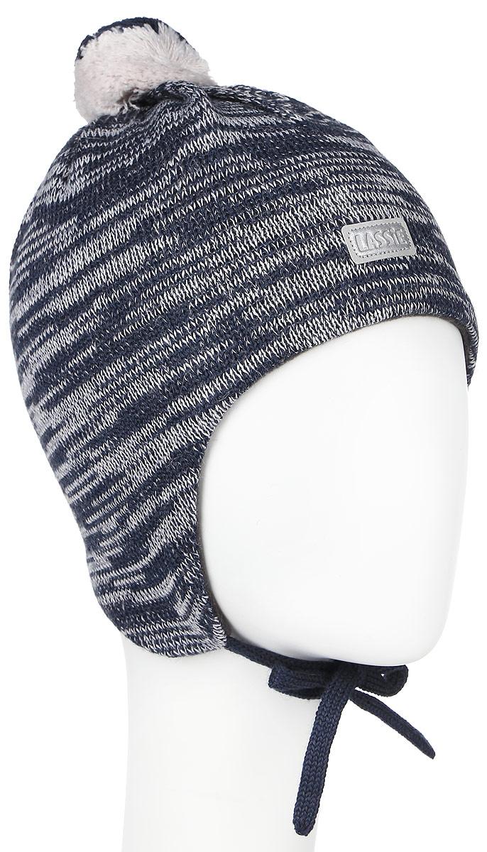 Шапка детская718693-0110Комфортная детская шапка Reima Lassie идеально подойдет для прогулок в холодное время года. Вязаная шапка с ветрозащитными вставками в области ушей, выполненная из шерсти и акрила, максимально сохраняет тепло, она мягкая и идеально прилегает к голове. Мягкая подкладка выполнена из флиса, поэтому шапка хорошо сохраняет тепло и обладает отличной гигроскопичностью (не впитывает влагу, но проводит ее). Шапка завязывается на завязки под подбородком и оформлена помпоном и небольшой светоотражающей нашивкой с названием бренда. В ней ваш ребенок будет чувствовать себя уютно и комфортно. Уважаемые клиенты! Размер, доступный для заказа, является обхватом головы.