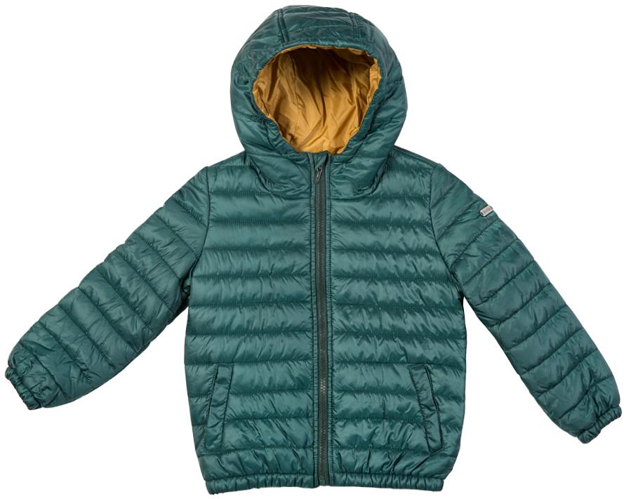216BBBC41010300Легкая стеганая куртка с капюшоном - залог хорошего настроения в холодный осенний день! Модель на синтепоне, дарит ребенку тепло, комфорт и свободу движений. Модная форма, динамичная горизонтальная стежка, контрастная подкладка обеспечивают куртке прекрасный внешний вид! Тонкий мешок-чехол для компактного хранения курки - приятное функциональное дополнение к основной покупке!