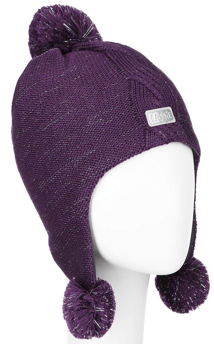 728696-0110Комфортная шапка для девочки Reima Lassie идеально подойдет для прогулок в холодное время года. Вязаная шапка с ветрозащитными вставками в области ушей, выполненная из шерсти и акрила, максимально сохраняет тепло, она мягкая и идеально прилегает к голове. Шерсть хорошо тянется и устойчива к сминанию. Мягкая подкладка выполнена из флиса, поэтому шапка хорошо сохраняет тепло и обладает отличной гигроскопичностью (не впитывает влагу, но проводит ее). Шапка оформлена помпонами и небольшой светоотражающей нашивкой с названием бренда. В такой шапке ваша дочурка будет чувствовать себя уютно и комфортно и всегда будет в центре внимания! Уважаемые клиенты! Размер, доступный для заказа, является обхватом головы ребенка.
