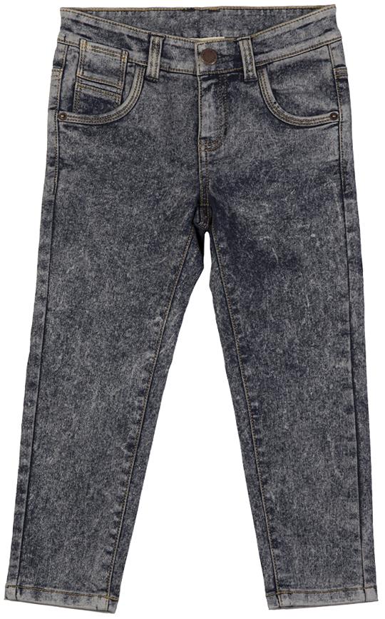 216BBBC6402D400Джинсы с потертостями и варкой на подкладке из флиса гарантируют отличный внешний вид и хорошее настроение! Модный силуэт, удобная посадка на фигуре создают комфорт, тепло и свободу движений.