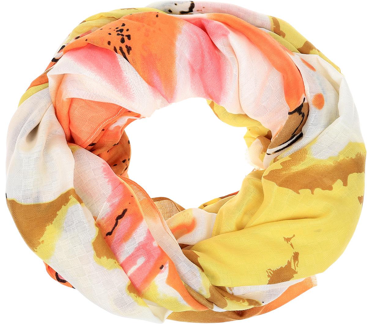 ПалантинYY-21665-22Элегантный палантин Sophie Ramage станет достойным завершением вашего образа. Палантин изготовлен из высококачественного модала. Оформлена модель стильным цветочным принтом. Палантин красиво драпируется, он превосходно дополнит любой наряд и подчеркнет ваш изысканный вкус. Легкий и изящный палантин привнесет в ваш образ утонченность и шарм.