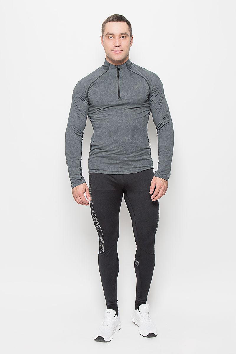 Лонгслив132106-0934Мужской лонгслив Asics Ls 1/2 Zip Jersey, выполненный из мягкой эластичной ткани, идеально подойдет для бега и занятий фитнесом. Модель отлично сидит и обеспечивает максимальную свободу движений. Материал тактильно приятный, позволяет коже свободно дышать, отводит влагу и сохраняет тело в сухости. Плоские эластичные швы изделия не натирают кожу. Модель с длинными рукавами-реглан и воротником-стойкой застегивается спереди на молнию с защитой подбородка. Спинка лонгслива удлинена. Сбоку расположен прорезной карман на молнии. На изделии предусмотрены светоотражающие детали для безопасности в темное время суток. Лонгслив идеально прилегает к телу и подчеркивает достоинства фигуры, абсолютно не сковывая движений. Модель подарит вам комфорт в течение всего дня!