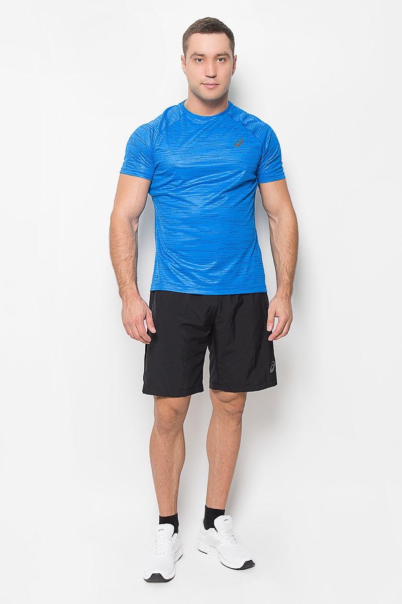 Футболка134692-0053Стильная мужская футболка для бега Asics SS Top, выполненная из высококачественного полиэстера, обладает высокой воздухопроницаемостью, а также превосходно отводит влагу от тела, оставляя кожу сухой даже во время интенсивных тренировок. Она предназначена для любого типа и места тренировок - от спортзала до парка. Комфортные плоские швы исключают риск натирания и раздражения. Модель с короткими рукавами-реглан и круглым вырезом горловины - идеальный вариант для создания модного спортивного образа. Спинка футболки дополнена широкой сетчатой вставкой. Футболка оформлена логотипом бренда на груди. Такая футболка идеально подойдет для занятий спортом, бега и фитнеса. В ней вы всегда будете чувствовать себя уверенно и комфортно.