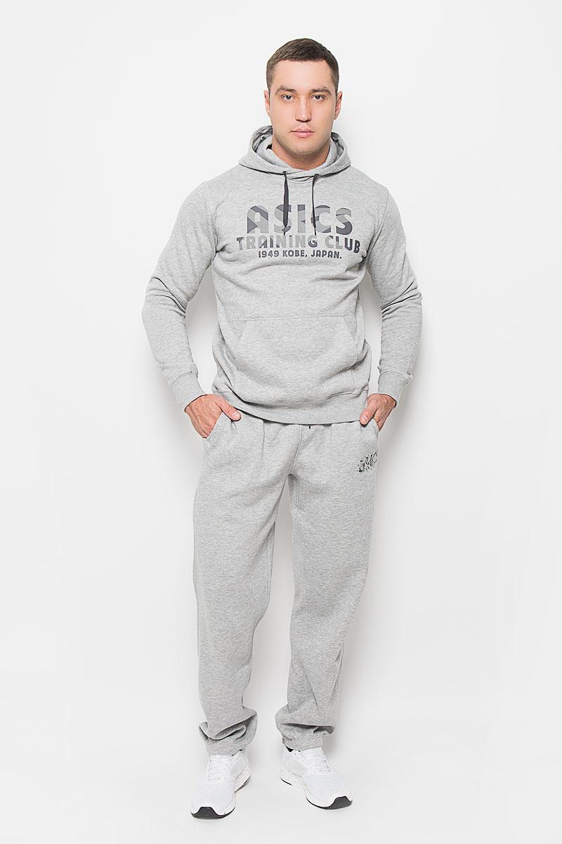 Брюки спортивные134907-0714Удобные мужские спортивные брюки Asics Knit великолепно подойдут для отдыха, повседневной носки, а также для занятий спортом. Модель средней посадки изготовлена из полиэстера с добавлением хлопка, благодаря чему великолепно пропускает воздух, обладает высокой гигроскопичностью и превосходно сидит, обеспечивая вам комфорт даже во время интенсивных тренировок. Брюки имеют широкую эластичную резинку на поясе, объем талии регулируется при помощи шнурка-кулиски. Плоские швы исключают риск натирания . Изделие дополнено двумя втачными карманами спереди, а также украшено принтом с изображением логотипа производителя. Эти модные и в то же время удобные брюки - настоящее воплощение комфорта. В них вы всегда будете чувствовать себя уверенно и уютно и непременно достигнете новых спортивных высот.