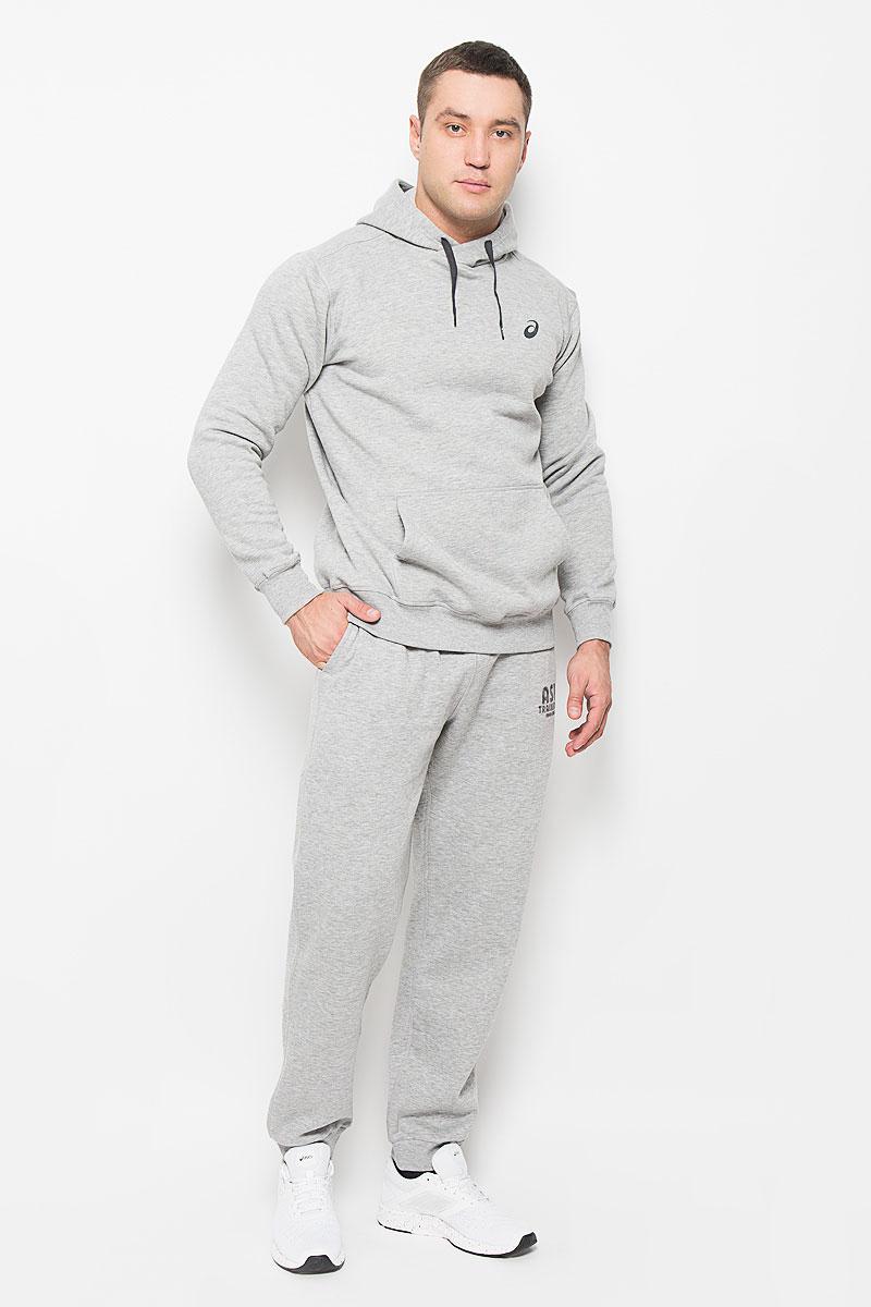Брюки спортивные134796-0714Удобные мужские спортивные брюки Asics Training Club великолепно подойдут для отдыха, повседневной носки, а также для занятий спортом. Модель средней посадки изготовлена из полиэстера с добавлением хлопка, благодаря чему великолепно пропускает воздух, обладает высокой гигроскопичностью и превосходно сидит, обеспечивая вам комфорт даже во время интенсивных тренировок. Брюки имеют широкую эластичную резинку на поясе, объем талии регулируется при помощи шнурка-кулиски. Плоские швы исключают риск натирания. Брючины дополнены эластичными манжетами по низу. Изделие дополнено двумя втачными карманами спереди, а также украшено принтом с изображением логотипа производителя. Эти модные и в то же время удобные брюки - настоящее воплощение комфорта. В них вы всегда будете чувствовать себя уверенно и уютно и непременно достигнете новых спортивных высот.