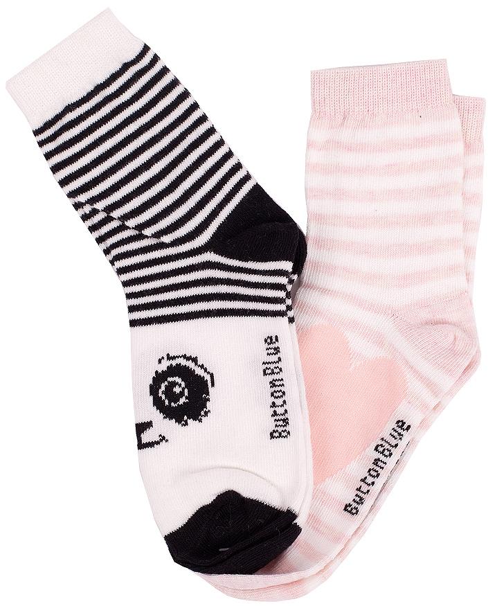 216BBUU85021205Детские носки - необходимая вещь на каждый день. И их в гардеробе ребенка должно быть немало. Если вы решили дополнить осенне-зимний гардероб ребенка хлопковыми носками, вам необходимо купить отличный комплект из двух пар. Вы думаете, что хорошие носки дешево - это невозможно? Носки от Button Blue - это мягкость, износостойкость, комфорт.
