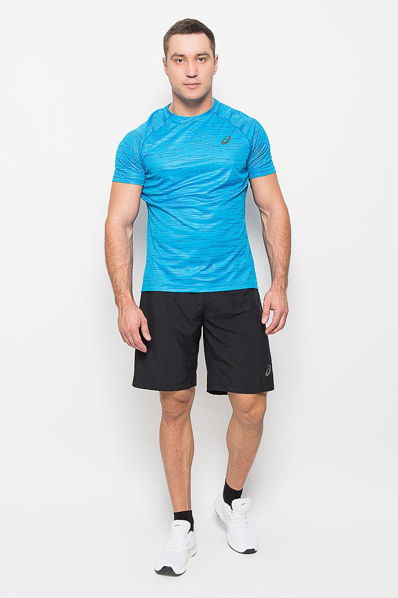 Шорты134094-0904Мужские шорты для бега Asics 2-N-1 9in станут отличным дополнением к вашему спортивному гардеробу. Они выполнены из полиэстера, благодаря чему удобно сидят, обладают высокой износостойкостью, быстро сохнут и превосходно отводят влагу от тела, оставляя кожу сухой. Модель дополнена широкой эластичной резинкой на поясе. Объем талии регулируется при помощи шнурка-кулиски в поясе. Шорты дополнены втачным карманом на застежке-молнии и оформлены светоотражающим логотипом. Изделие оснащено внутренней несъемной вставкой из сетчатой ткани, которая обеспечивает необходимую вентиляцию. Эти модные свободные шорты идеально подойдут для занятий спортом и бега. В них вы всегда будете чувствовать себя уверенно и комфортно.