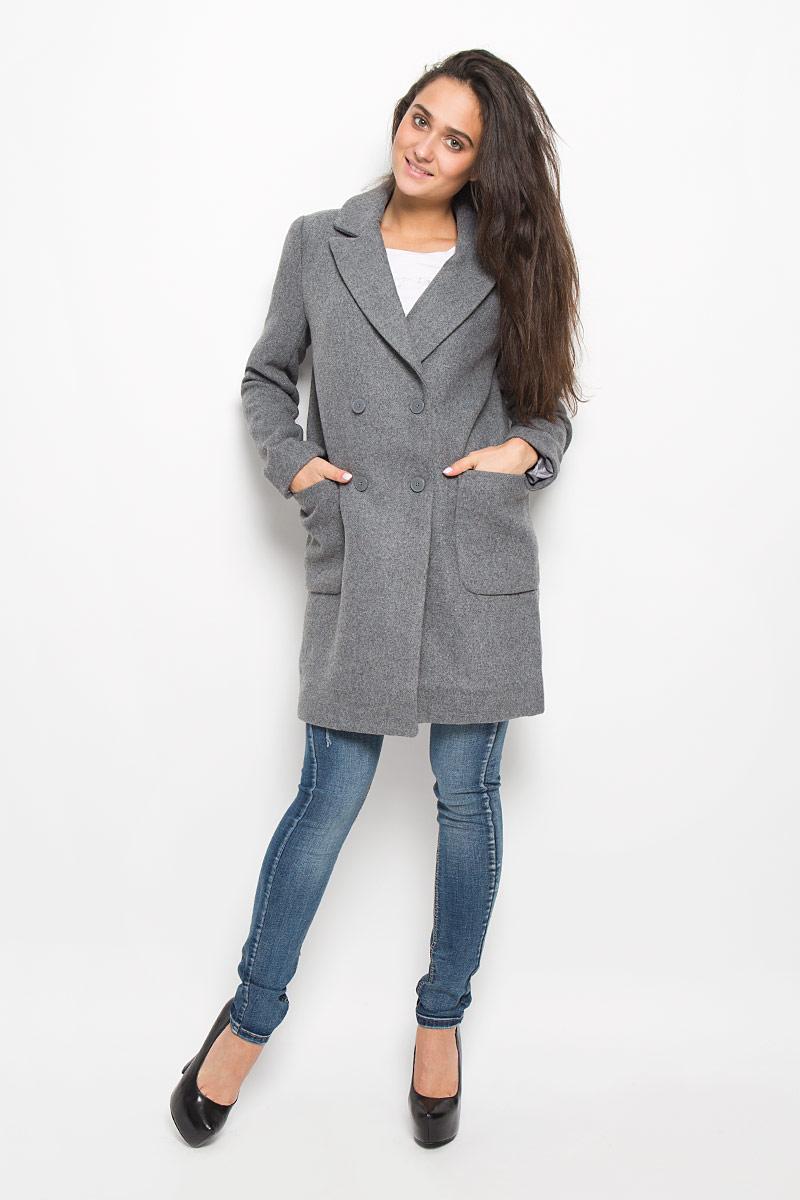 10200610016_1900Удобное женское пальто Concept Club Snipe1 согреет вас в прохладную погоду и позволит выделиться из толпы. Модель с длинными рукавами и воротником с лацканами выполнена из шерсти с полиэстером и полиамидом, застегивается на пуговицы спереди. Изделие дополнено двумя накладными карманами. Пальто надежно сохранит тепло и защитит вас от ветра и холода. Это модное и в то же время комфортное пальто - отличный вариант для прогулок, оно подчеркнет ваш изысканный вкус и поможет создать неповторимый образ.