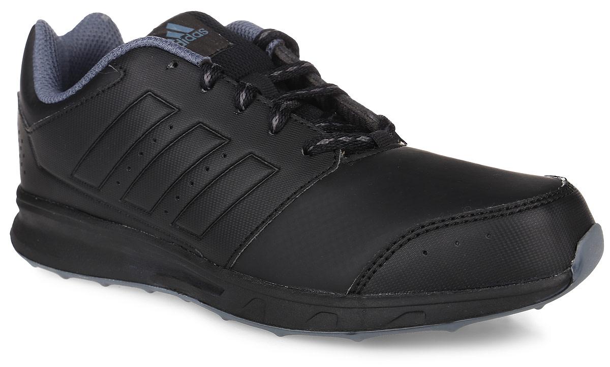 КроссовкиAQ3739Детские кроссовки для бега adidas Perfromance Lk Sport 2 K выполнены из искусственной кожи с перфорацией. Язычок выполнен из сетчатого текстильного материала. Обувь фиксируется на ноге при помощи классической шнуровки. Подкладка выполнена из текстиля, стелька изготовлена из ЭВА с текстильным покрытием. Немаркая подошва из резины дополнена рифлением и мелкими шипами.