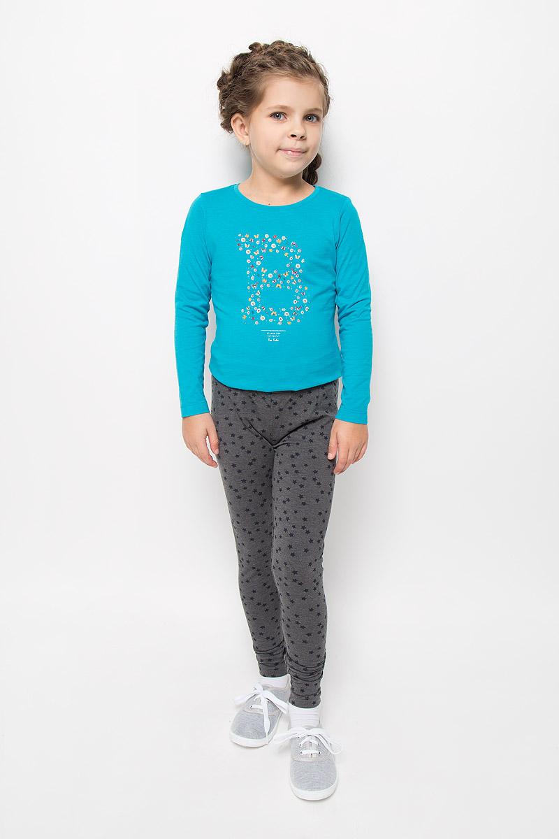 PLG-615/125-6362Модные леггинсы для девочки Sela прекрасно подойдут вашей моднице и станут отличным дополнением к детскому гардеробу. Изготовленные из эластичного хлопка с добавлением полиэстера, они мягкие и приятные на ощупь, не сковывают движения и позволяют коже дышать, не раздражают нежную кожу ребенка, обеспечивая наибольший комфорт. Леггинсы на талии имеют широкую эластичную резинку, благодаря чему они не сдавливают живот ребенка и не сползают. Оформлено изделие изображением звездочек. В таких леггинсах ваша принцесса будет чувствовать себя комфортно, уютно и всегда будет в центре внимания!