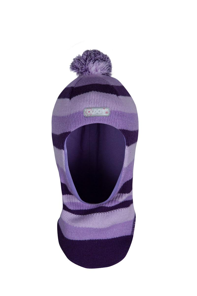 1ШЛ1600Шапка-шлем спортивного стиля Тенея из зимней коллекции OLDOS отлично подойдет для активных зимних прогулок и занятий спортом на свежем морозном воздухе. Шапка-шлем очень приятная на ощупь и теплая благодаря составу пряжи 70% шерсть и 30% акрил. Подкладка из вискозы мягкая и позволяет отводить излишнюю влагу, поддерживая ощущение комфорта во время прогулок. Благодаря утеплителю холлофайбер плотностью 70 г шлем не кажется толстым, но прекрасно удерживает тепло даже в сильные морозы. Шлем хорошо закрывает шею и грудку ребенка, при этом не мешает с легкостью надевать куртку самостоятельно. Модель дополнена светоотражающим элементом с логотипом OLDOS, принтом в полоску и помпоном.