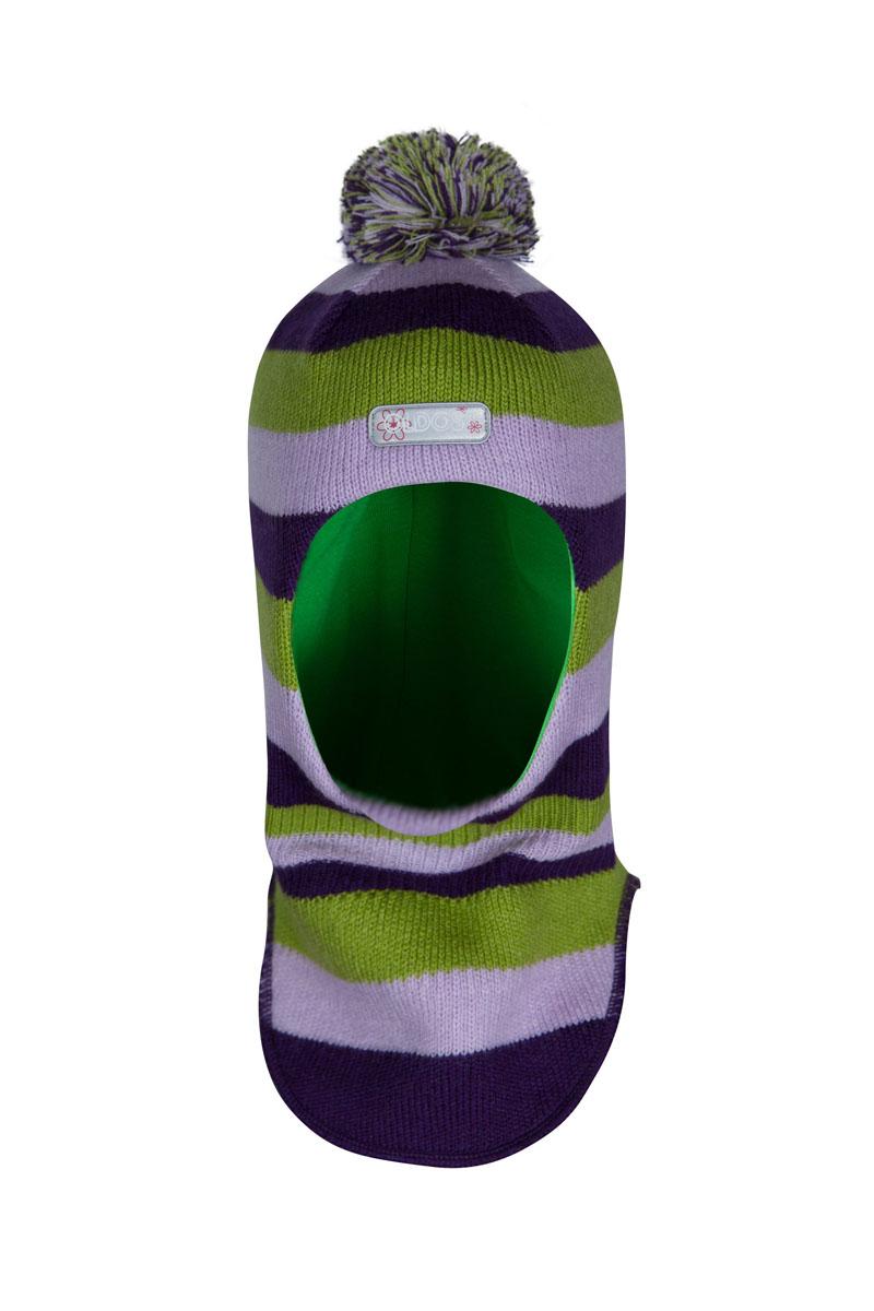Шапка детская1ШЛ1600Шапка-шлем спортивного стиля Тенея из зимней коллекции OLDOS отлично подойдет для активных зимних прогулок и занятий спортом на свежем морозном воздухе. Шапка-шлем очень приятная на ощупь и теплая благодаря составу пряжи 70% шерсть и 30% акрил. Подкладка из вискозы мягкая и позволяет отводить излишнюю влагу, поддерживая ощущение комфорта во время прогулок. Благодаря утеплителю холлофайбер плотностью 70 г шлем не кажется толстым, но прекрасно удерживает тепло даже в сильные морозы. Шлем хорошо закрывает шею и грудку ребенка, при этом не мешает с легкостью надевать куртку самостоятельно. Модель дополнена светоотражающим элементом с логотипом OLDOS, принтом в полоску и помпоном.
