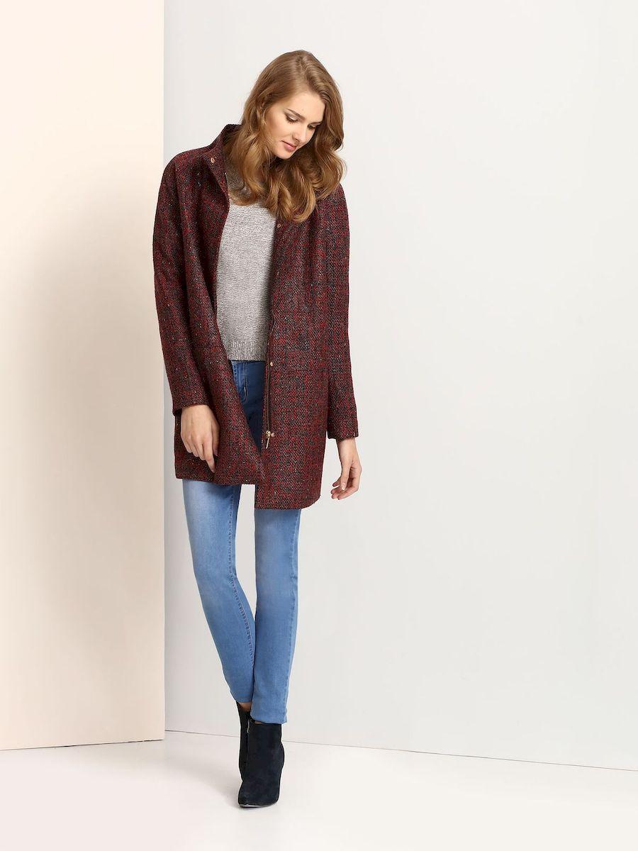 ПальтоTPZ0109CEСтильное женское пальто Troll выполнено из высококачественного полиэстера. Пальто с воротником-стойкой и длинными рукавами-реглан застегивается на металлическую застежку-молнию и на кнопки. Спереди модель дополнена двумя втачными карманами.
