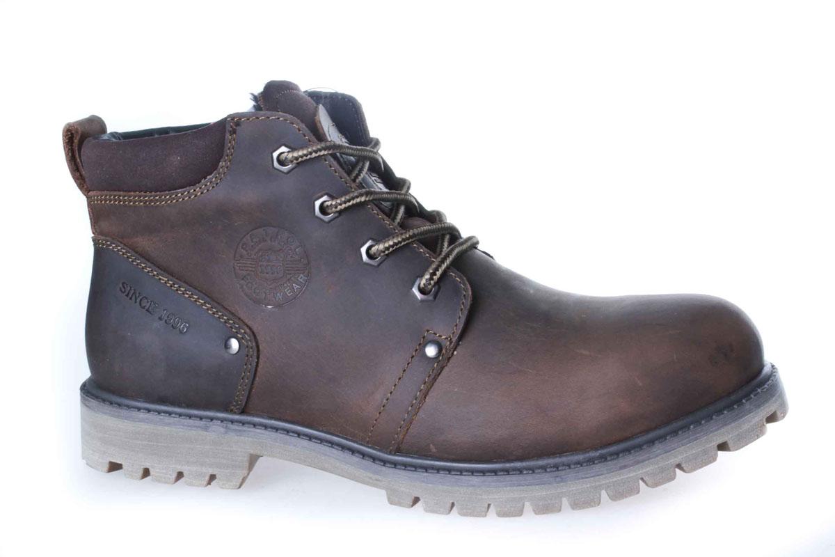 756-5918M-17w-1-6Уютные и теплые ботинки для мальчика от Patrol выполнены из натуральной кожи. Подкладка и стелька, выполненные из натурального меха, обеспечивают отличную амортизацию и максимальный комфорт. Подошва с протектором гарантирует идеальное сцепление на любой поверхности. Ботинки на ноге фиксируются при помощи классической шнуровки.