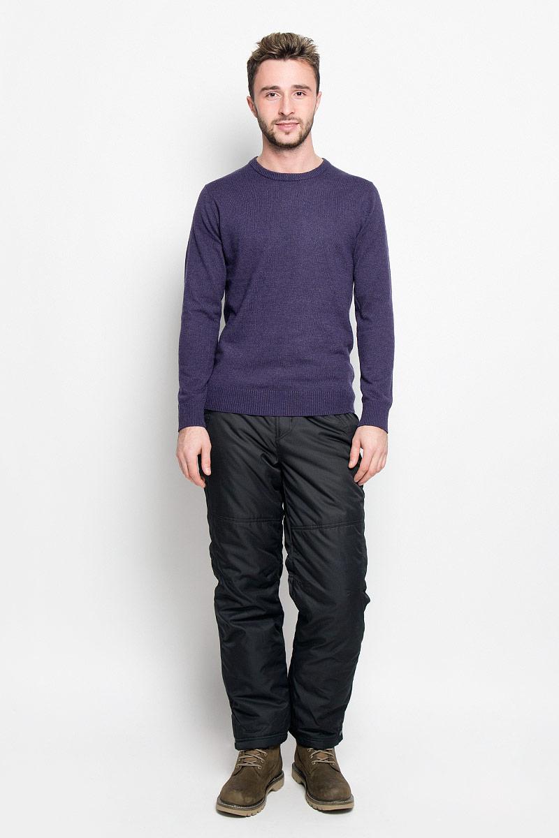 Брюки утепленныеPp-225/102-6313Мужские утепленные брюки Sela Casual Wear идеально подойдут для холодной погоды. Брюки выполнены из полиэстера. В качестве утеплителя используется 100% полиэстер. Брюки прямого кроя застегиваются спереди на пуговицы и имеют ширинку на застежке-молнии. В поясе модель дополнена эластичными вставками и хлястиками с липучками для более удобной посадки на фигуре. Имеются шлевки для ремня. Спереди расположены два прорезных кармана, сзади - один прорезной. Карманы закрываются на молнии. На брючинах предусмотрены снегозащитные манжеты с прорезиненными полосками. Низ брючин оснащен застежками-кнопками. Такие брюки станут отличным дополнением к вашему гардеробу!
