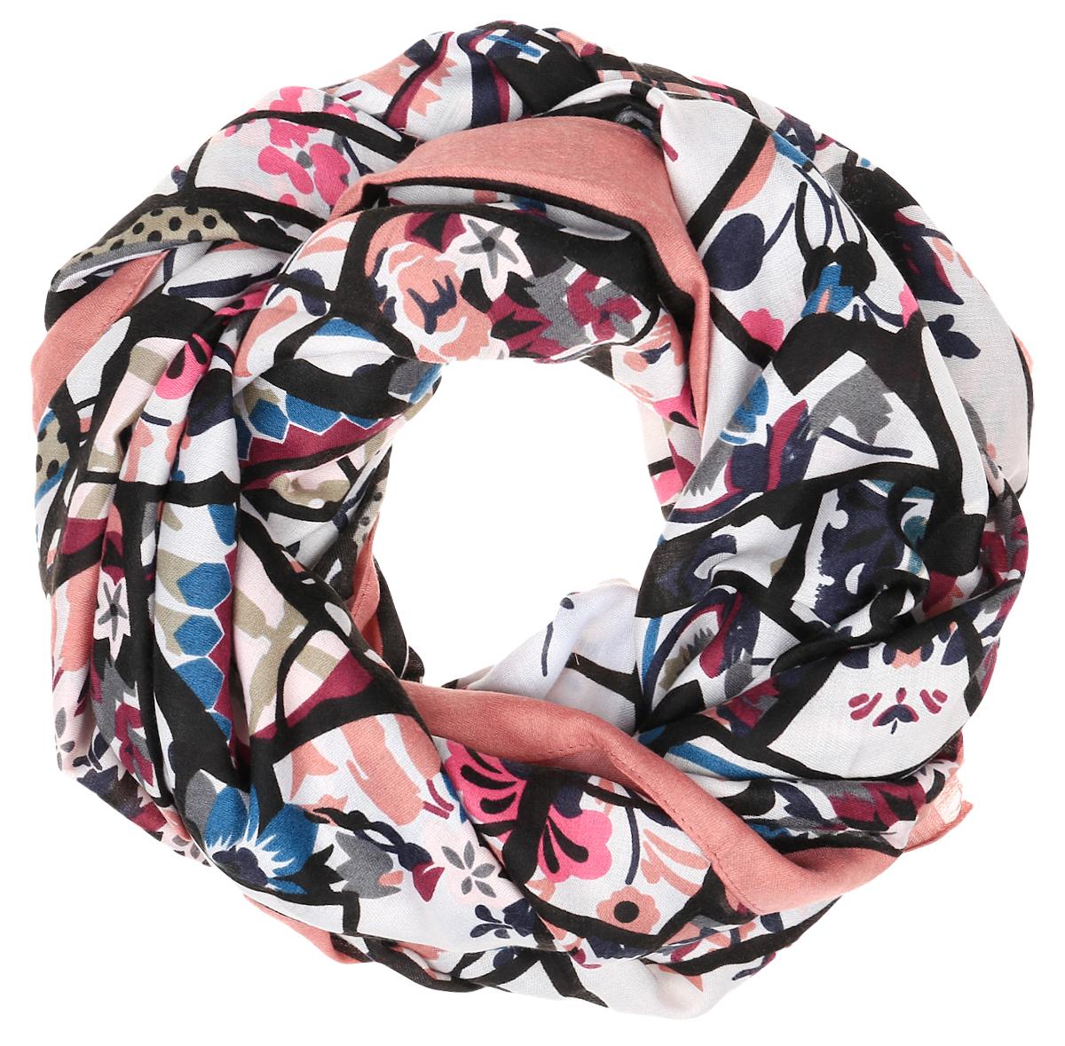 ШарфTUTF415-1Женский шарф Fabretti подарит уют и согреет от холодного ветра. Изготовленный из высококачественной вискозы, он очень легкий, мягкий, имеет приятную на ощупь текстуру. Модель оформлена принтом, украшена по краям кисточками. Такой аксессуар станет стильным дополнением к образу современной женщины, стремящейся всегда оставаться яркой и элегантной.