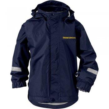 Куртка500925_39Яркая детская куртка Didriksons1913 Noorooma идеально подойдет для прогулок и игр на свежем воздухе. Куртка выполнена из непромокаемой и непродуваемой мембранной ткани. Куртка с воротником-стойкой и съемным капюшоном на кнопках застегивается на удобную застежку-молнию спереди и имеет ветрозащитный клапан на липучках и кнопках. Рукава оснащены хлястиками на липучках. Низ модели дополнен шнурком-кулиской со стоппером. Спереди расположены два втачных кармана на застежках-молниях. Куртка дополнена светоотражающими полосками на рукавах и на капюшоне. Рассчитана на температуру от +12°C до +17°C. Модель растет вместе с ребенком: уникальный крой изделия позволяет при необходимости увеличить длину рукавов на один размер, распустив специальный внутренний шов. В такой куртке ваш ребенок будет чувствовать себя комфортно, уютно и всегда будет в центре внимания!
