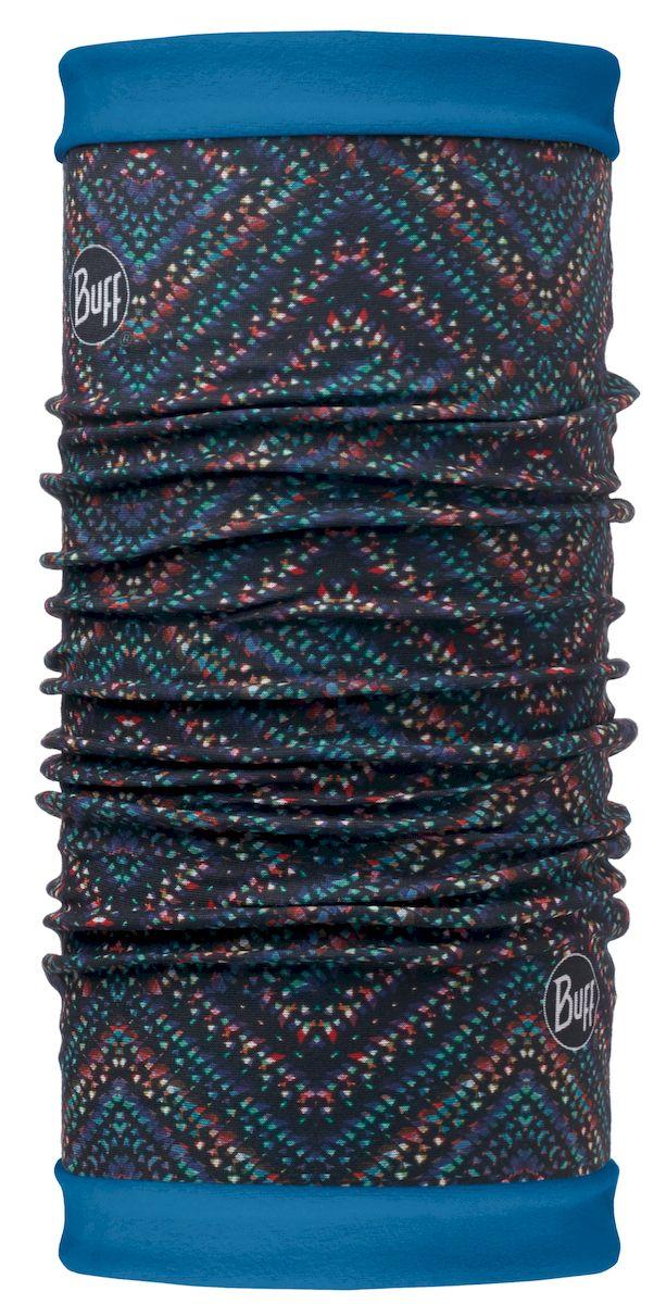 Шарф113140.555.10.00Самым теплым шарфом в виде трубы является именно эта серия Buff Reversible. Бандана-шарф изготовлена в виде трубы высотой 50 см. Снаружи усилена эластичной тканью из полиэстера, на который нанесен красочный узор, а внутри по всей поверхности утеплена мягким и теплым флисом. Такую бандану-трубу можно использовать в качестве шарфа, маски на лицо и даже шапки. Подходит для средней и низкой активности или для занятий спортом в холодное время года, особенно если эти занятия связаны с периодами отдыха. Например, при катании на сноуборде, горных лыжах или просто прогулках в сильный мороз.