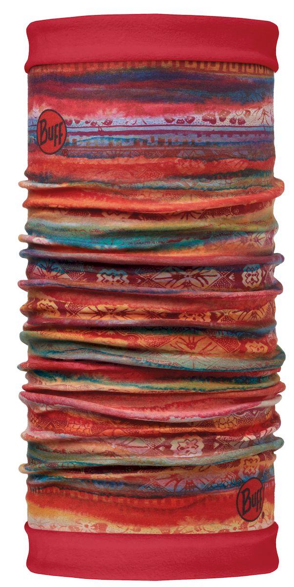 113136.555.10.00Самым теплым шарфом в виде трубы является именно эта серия Buff Reversible. Бандана-шарф изготовлена в виде трубы высотой 50 см. Снаружи усилена эластичной тканью из полиэстера, на который нанесен красочный узор, а внутри по всей поверхности утеплена мягким и теплым флисом. Такую бандану-трубу можно использовать в качестве шарфа, маски на лицо и даже шапки. Подходит для средней и низкой активности или для занятий спортом в холодное время года, особенно если эти занятия связаны с периодами отдыха. Например, при катании на сноуборде, горных лыжах или просто прогулках в сильный мороз.