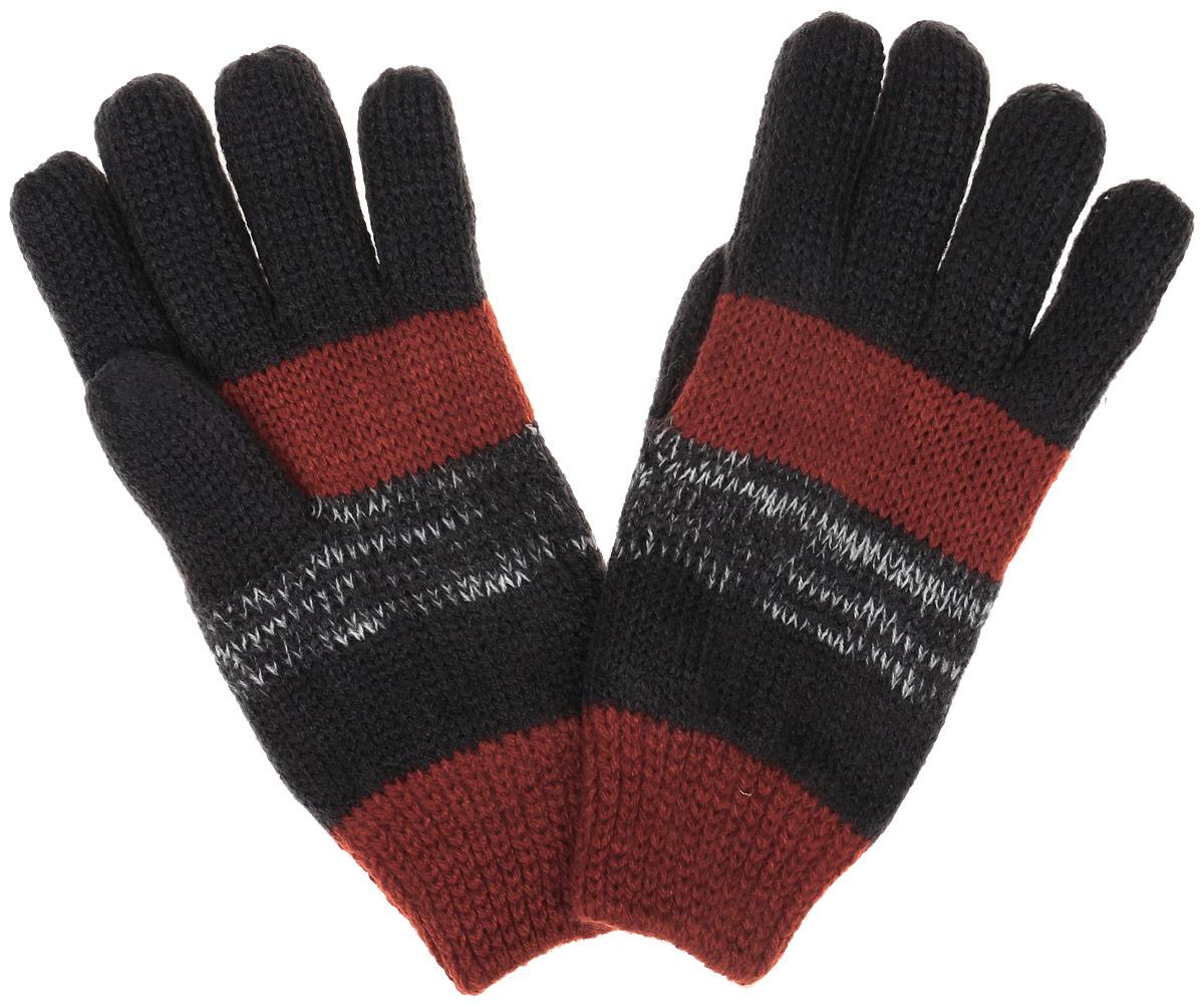 Перчатки детскиеGL-743/051AM-6302Вязаные перчатки для мальчика Sela идеально подойдут для прогулок в прохладное время года. Изготовленные из акрила, они необычайно мягкие и приятные на ощупь, не сковывают движения и позволяют коже дышать, не раздражают нежную кожу ребенка, обеспечивая ему наибольший комфорт, хорошо сохраняют тепло. Перчатки дополнены широкими эластичными манжетами, не стягивающими запястья и надежно фиксирующими их на ручках ребенка. Манжеты связаны крупной резинкой. Оформлены перчатки принтом в полоску. Оригинальный дизайн и расцветка делают эти перчатки модным и стильным предметом детского гардероба. В них ваш ребенок будет чувствовать себя уютно, комфортно и всегда будет в центре внимания!