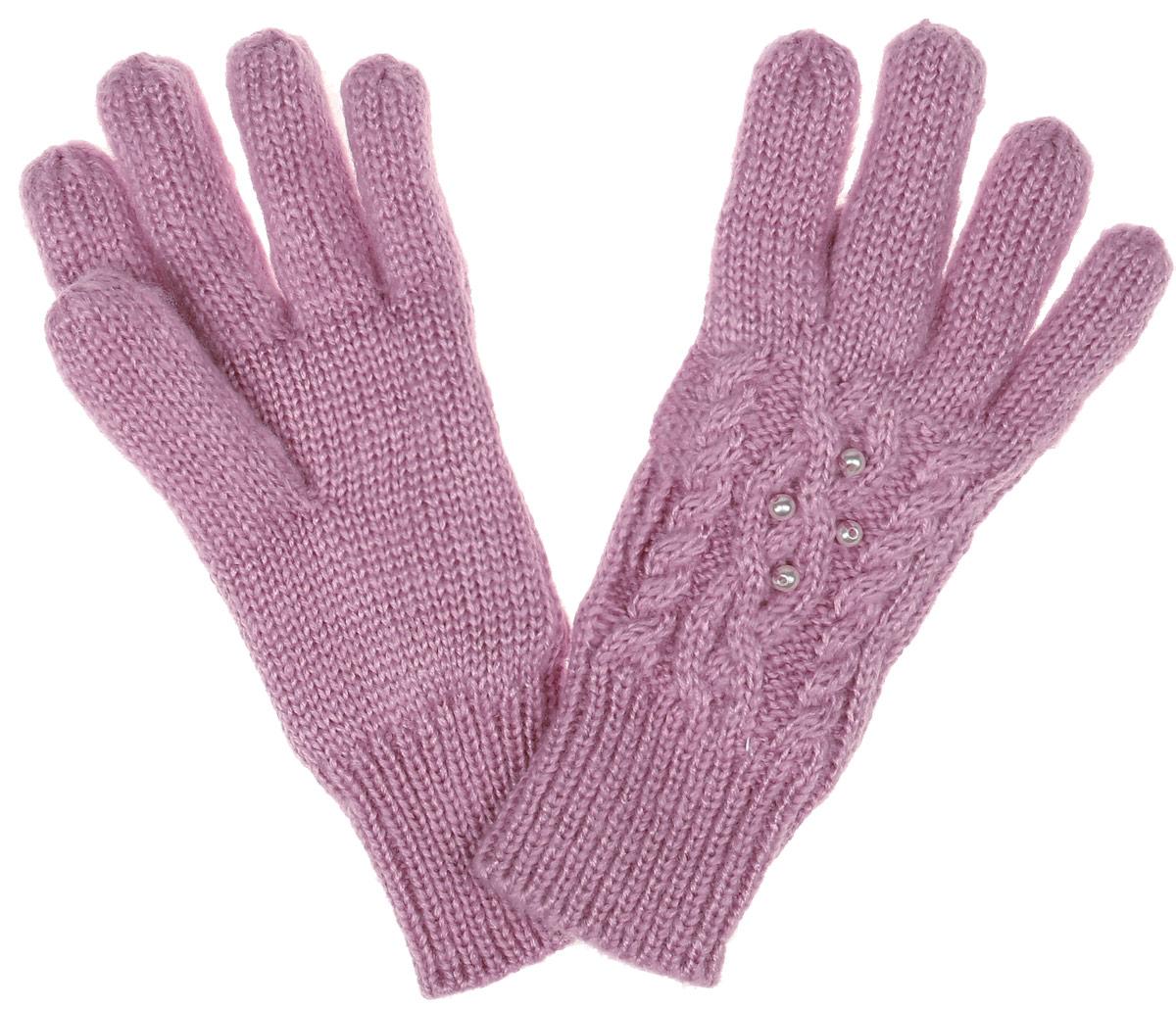 Перчатки детскиеGL-643/053AK-6404Вязаные перчатки для девочки Sela идеально подойдут вашей дочурке для прогулок в прохладное время года. Изготовленные из акрила, они необычайно мягкие и приятные на ощупь, не сковывают движения и позволяют коже дышать, не раздражают нежную кожу ребенка, обеспечивая ему наибольший комфорт, хорошо сохраняют тепло. Внутри мягкая и приятная на ощупь подкладка выполненная из 100% полиэстера. Перчатки дополнены широкими эластичными манжетами, не стягивающими запястья и надежно фиксирующими их на ручках ребенка. Манжеты связаны крупной резинкой. Оформлены перчатки имитацией жемчуга. Оригинальный дизайн и расцветка делают эти перчатки модным и стильным предметом детского гардероба. В них ваша маленькая модница будет чувствовать себя уютно и комфортно и всегда будет в центре внимания!