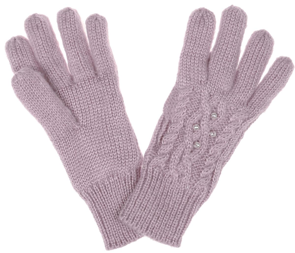 GL-643/053AK-6404Вязаные перчатки для девочки Sela идеально подойдут вашей дочурке для прогулок в прохладное время года. Изготовленные из акрила, они необычайно мягкие и приятные на ощупь, не сковывают движения и позволяют коже дышать, не раздражают нежную кожу ребенка, обеспечивая ему наибольший комфорт, хорошо сохраняют тепло. Внутри мягкая и приятная на ощупь подкладка выполненная из 100% полиэстера. Перчатки дополнены широкими эластичными манжетами, не стягивающими запястья и надежно фиксирующими их на ручках ребенка. Манжеты связаны крупной резинкой. Оформлены перчатки имитацией жемчуга. Оригинальный дизайн и расцветка делают эти перчатки модным и стильным предметом детского гардероба. В них ваша маленькая модница будет чувствовать себя уютно и комфортно и всегда будет в центре внимания!