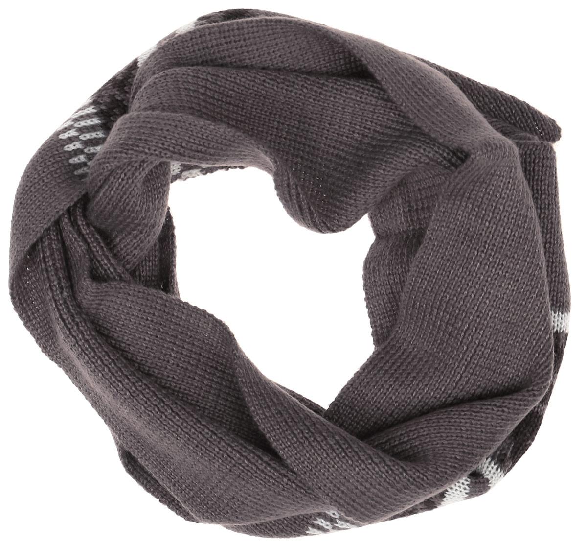 Шарф детскийSC-842/054AG-6404Теплый трикотажный шарф для мальчика Sela защитит вашего ребенка от сильного ветра и холода. Выполненный из акрила с добавлением шерсти, он мягкий и приятный на ощупь. Модель оформлена полосками и узорами. Такой шарф станет стильным предметом детского гардероба. В нем ваш ребенок будет чувствовать себя тепло, уютно и комфортно.