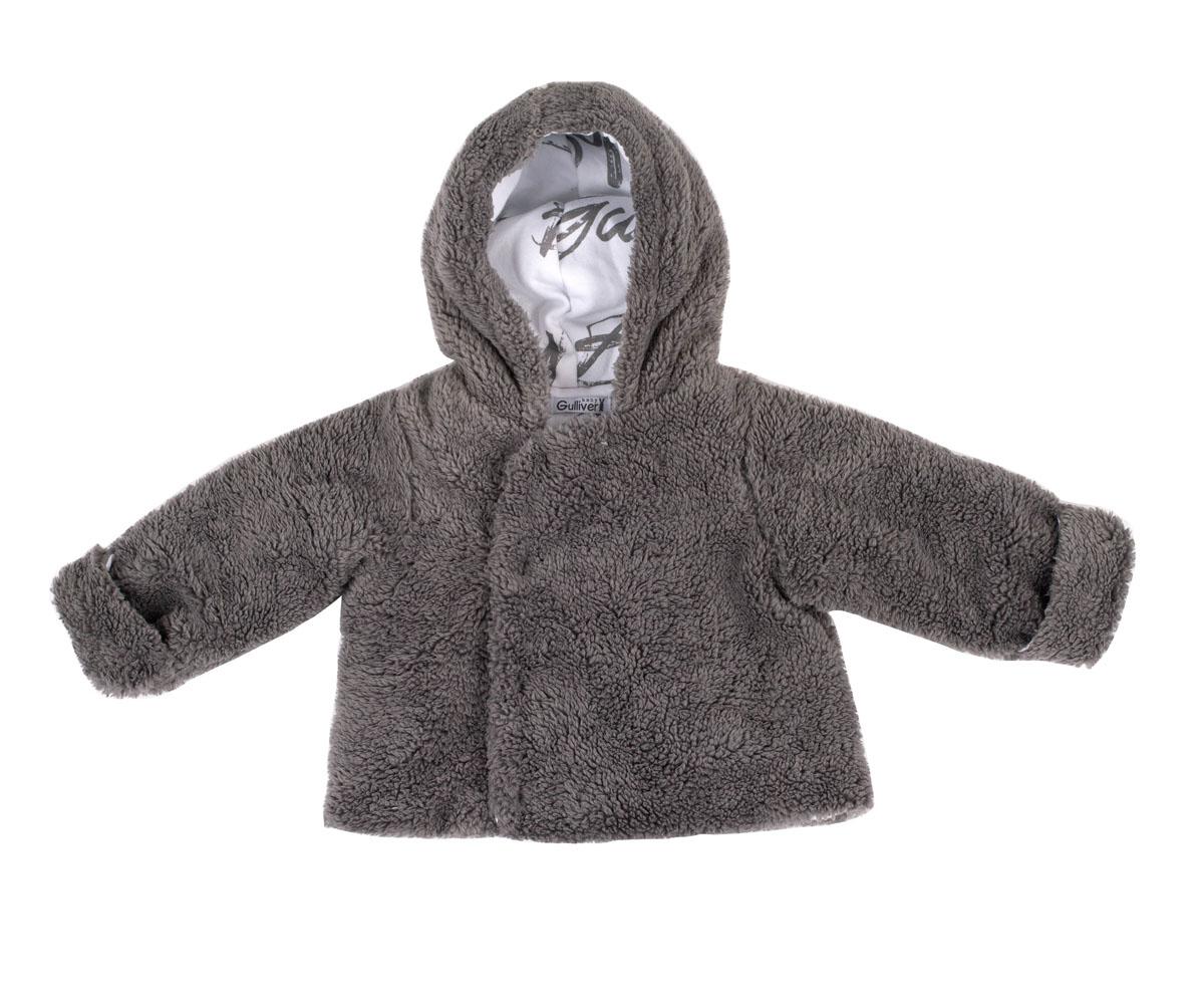 216GBBNC5101Эта модель - олицетворение тепла и уюта! Созданная из нежного коротковорсового искусственного меха, эта кофта для малыша подарит мягкость, тепло и комфорт во время осенней прогулки. Кофта с капюшоном и асимметричной застежкой - красивое и практичное решение на каждый день. Подкладка из орнаментального трикотажного полотна придает модели завершенность.