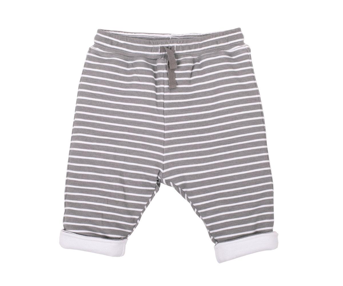 Брюки216GBBNC5601Утепленные брюки из трикотажной полоски прекрасно дополнят осенний Look стильного малыша, подарив тепло и свободу движений. Тонкий синтепон и контрастная подкладка делают изделие очень мягким, легким, приятным для повседневной носки. Если вы решили купить модные брюки для комфорта и уюта маленького модника, эта модель - отличный выбор!