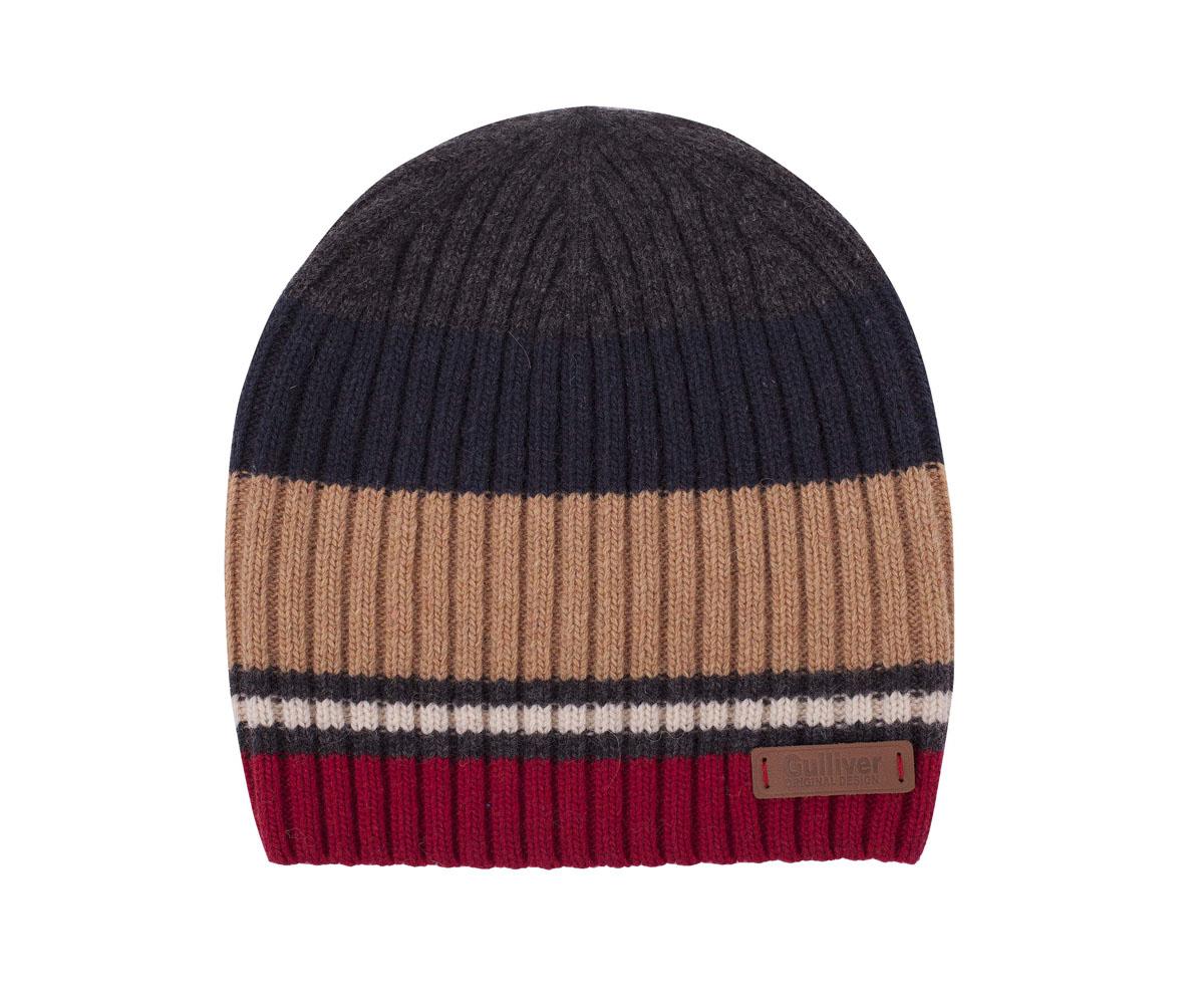 Шапка детская21607BKC7301Шапка для мальчика - модный и функциональный аксессуар, способный сделать ярче и интереснее образ ребенка. Модная вязаная шапка на подкладке из флиса - идеальное завершение зимнего ансамбля из коллекции Паддингтон. Если вы хотите купить шапку для тепла и комфорта ребенка, эта модель - отличный выбор.