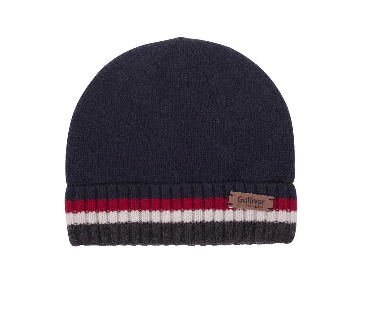 Шапка детская21607BKC7306Шапка для мальчика - модный и функциональный аксессуар, способный сделать ярче и интереснее образ ребенка. Модная вязаная шапка на подкладке из флиса - идеальное завершение зимнего ансамбля. Если вы хотите купить шапку для тепла и комфорта ребенка, эта модель - отличный выбор.