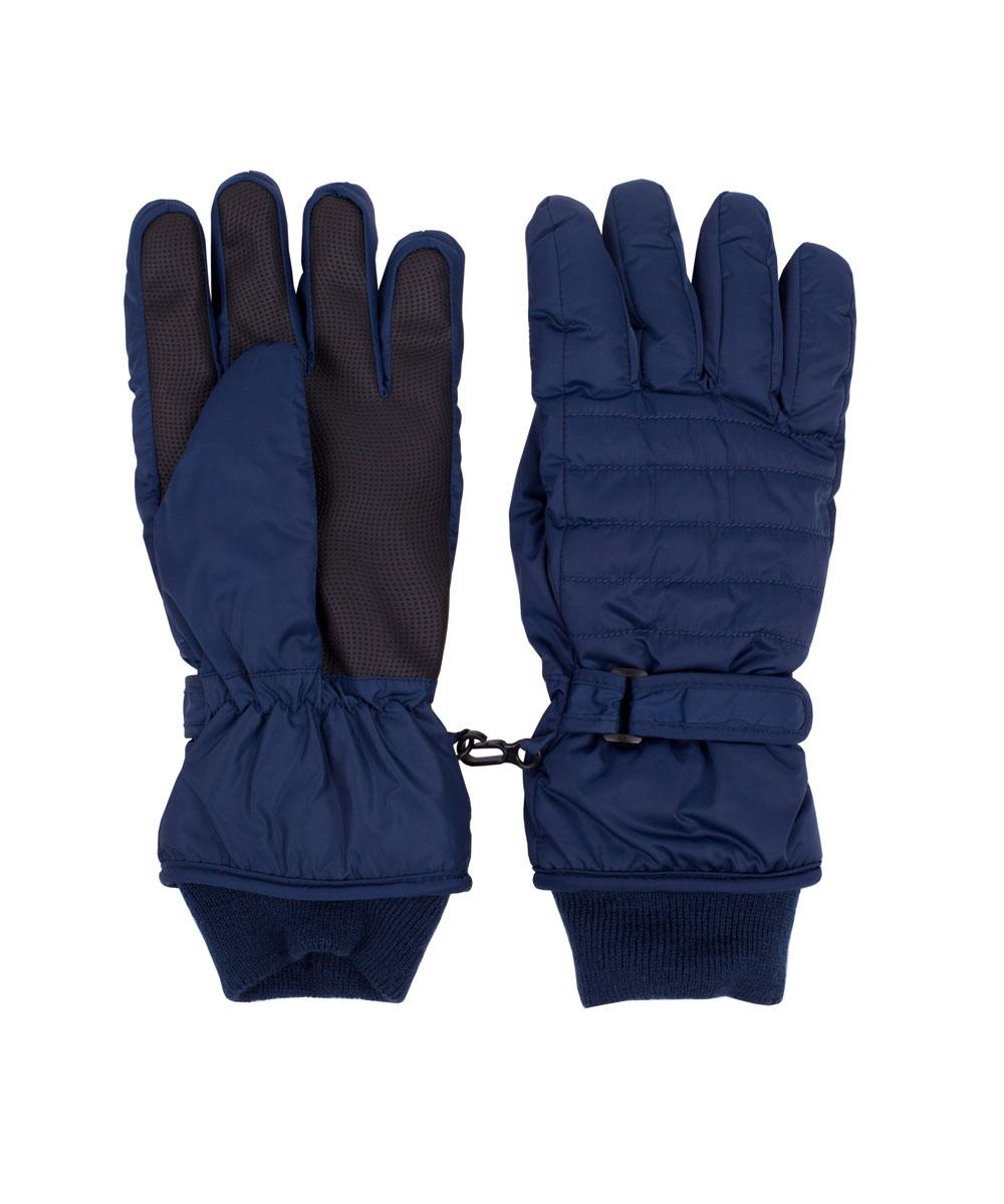 Перчатки детские21611BTC7604Детские перчатки - важная вещь для морозной погоды! Их главное предназначение - защита от холода и ветра, и с этой задачей они справятся на все 100! Плащевые перчатки имеют утяжку и трикотажные подвязы, защищающие от попадания снега внутрь, а также специальный протектор, гарантирующий износостойкость изделия. Если вы решили купить детские зимние перчатки, эта модель - прекрасный выбор!