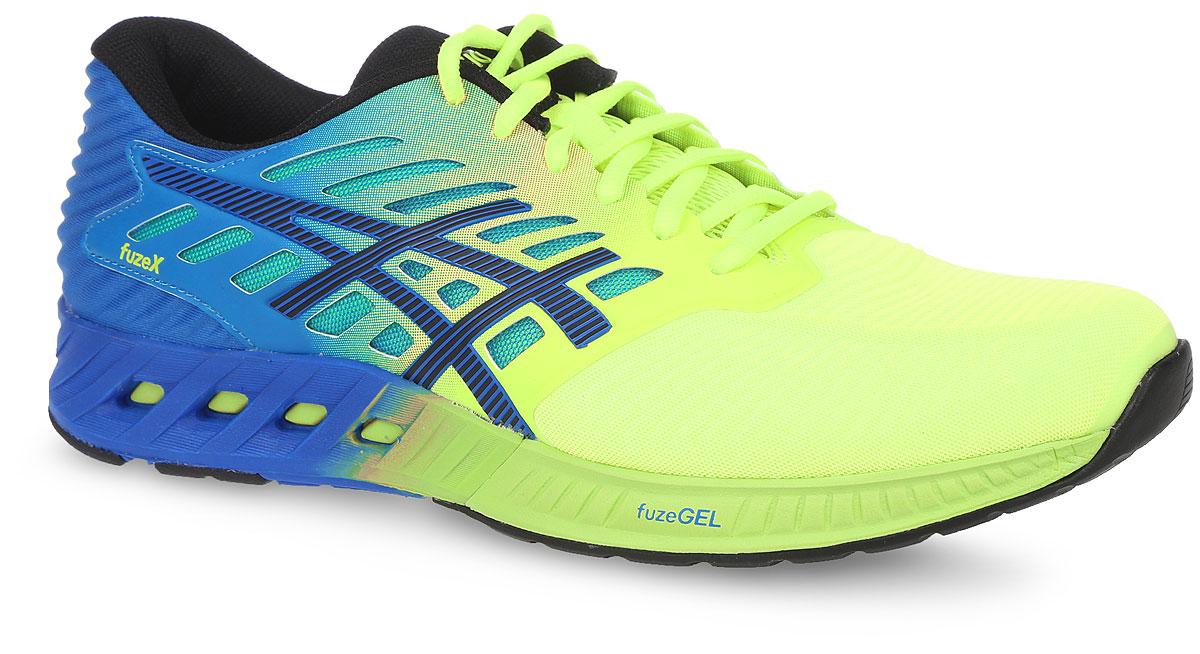 T639N-0790Кроссовки Asics Fuzex выполнены из текстиля и полимера. Модель выполнена в оригинальном дизайне и оформлена фирменным принтом. На ноге модель фиксируется с помощью шнурков. Внутренняя поверхность выполнена из сетчатого текстиля. Стелька выполнена из мягкого ЭВА- материала с текстильной поверхностью. Подошва изготовлена из легкого и гибкого ЭВА-материала. Поверхность подошвы выполнена из прочной резины и дополнена протектором, который гарантирует отличное сцепление с любой поверхностью.