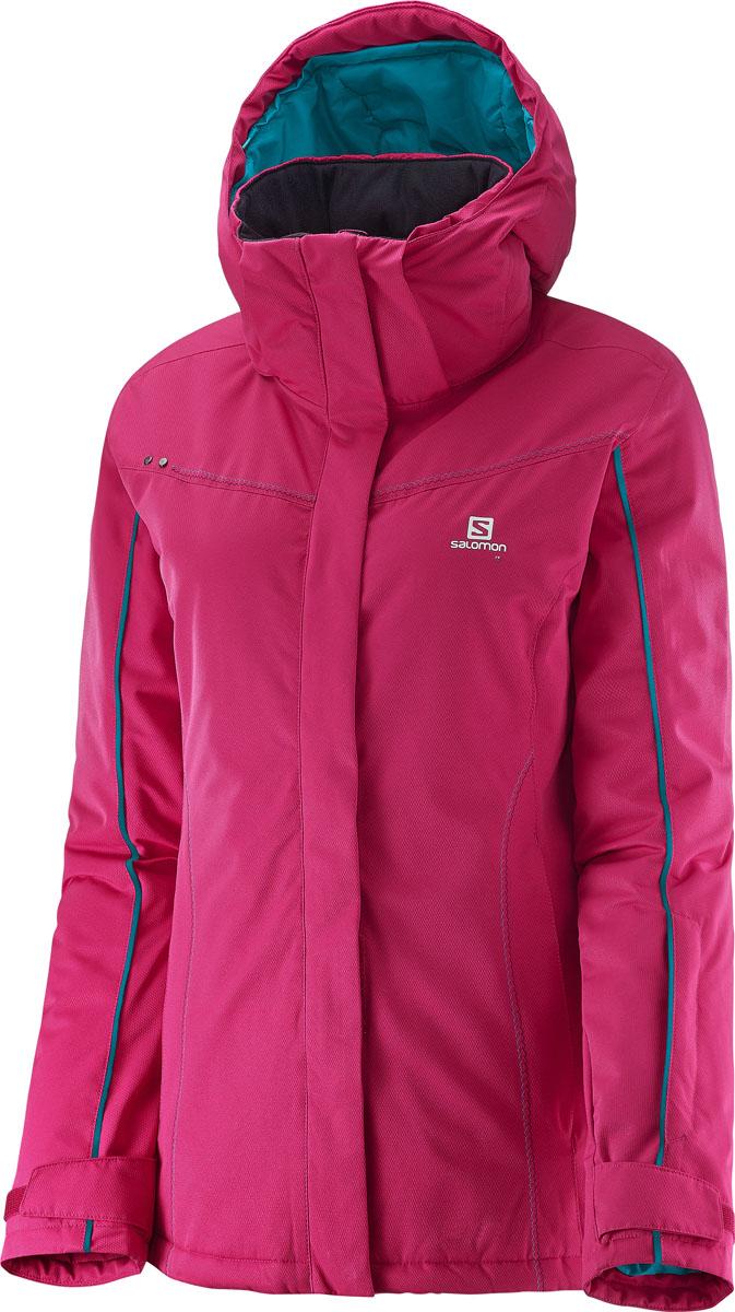 L39215900Сочетание узора «в елочку» и мягкой твиловой ткани придает модели яркий молодежный вид. Теплая и универсальная куртка с зищитой 10/10 для катания на горных лыжах.