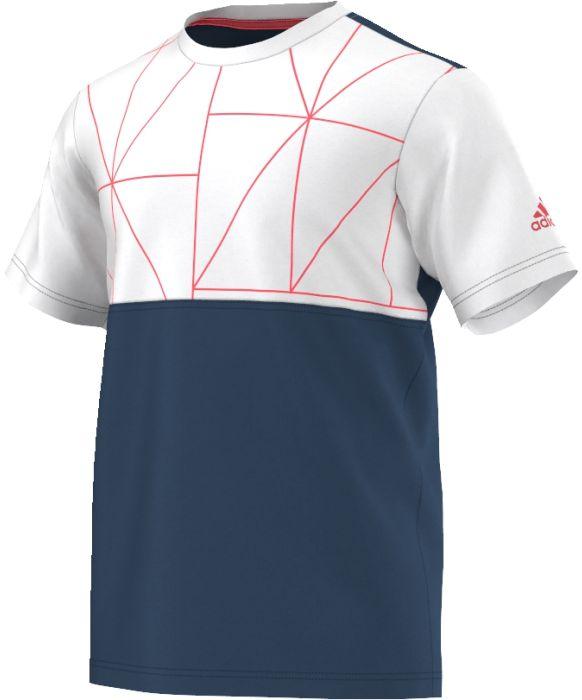 AP4798Футболка CLUB TEE. В этой футболке - юному теннисисту будет по плечу любая преграда.